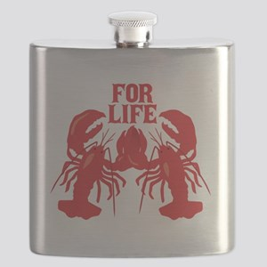 Lobsters Mate For Life Flask
