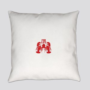 Lobsters Mate For Life Everyday Pillow
