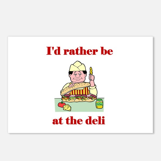 The Deli Postcards (Package of 8)
