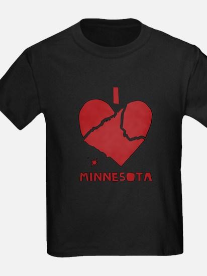 I Love Minnesota T-Shirt
