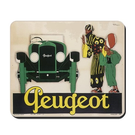 Vintage Guegeot Bicycle Ad Mousepad