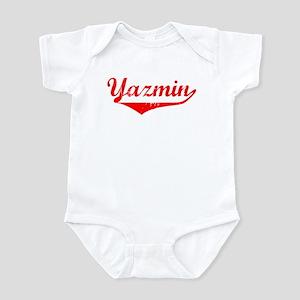 Yazmin Vintage (Red) Infant Bodysuit