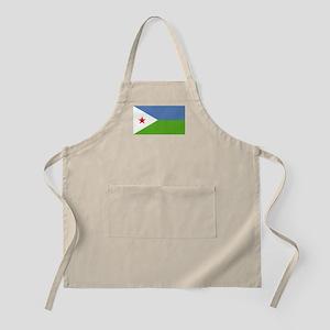 Djibouti flag Apron