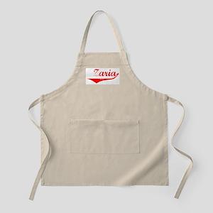 Zaria Vintage (Red) BBQ Apron