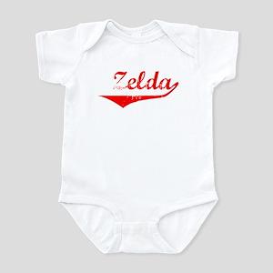 Zelda Vintage (Red) Infant Bodysuit