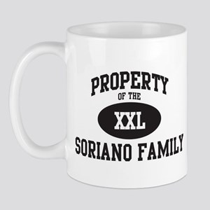 Property of Soriano Family Mug