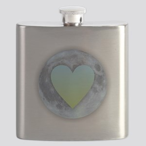 Moonlight Heart Flask