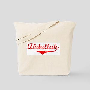 Abdullah Vintage (Red) Tote Bag
