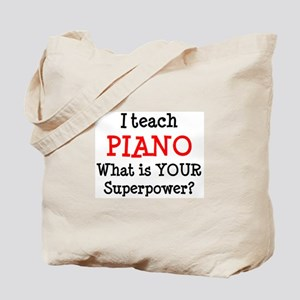 teach piano Tote Bag
