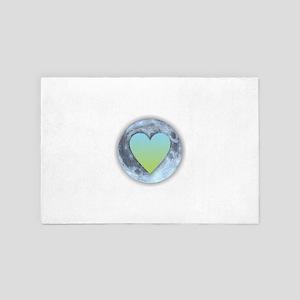 Moonlight Heart 4' x 6' Rug