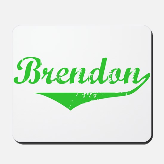 Brendon Vintage (Green) Mousepad