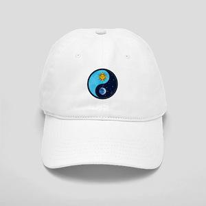 Sun Moon Yin Yang Symbol Cap