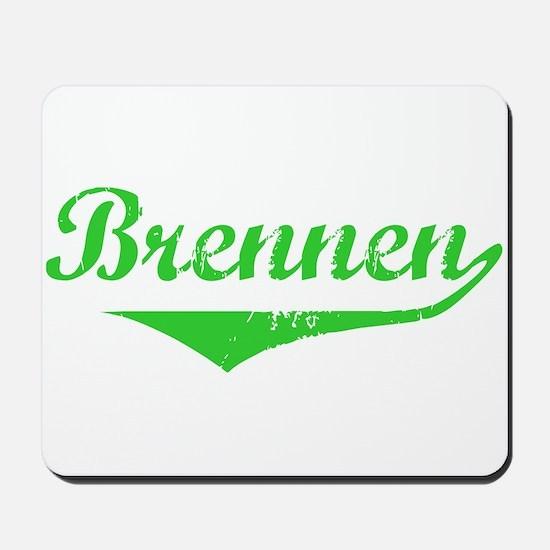 Brennen Vintage (Green) Mousepad