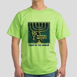 Y'shua, Light of the World! Ash Grey T-Shirt