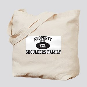 Property of Shoulders Family Tote Bag