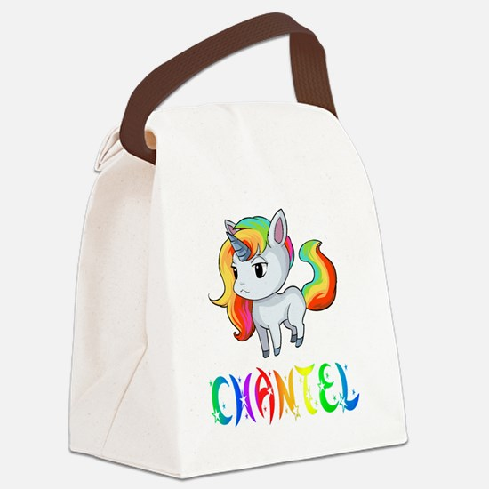 Funny Chantel Canvas Lunch Bag