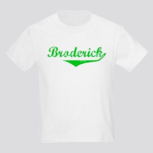 Broderick Vintage (Green) Kids Light T-Shirt