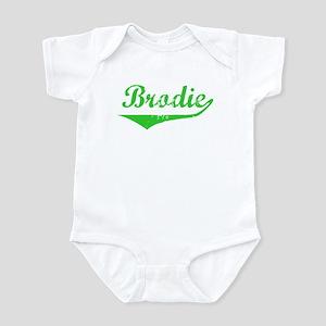 Brodie Vintage (Green) Infant Bodysuit