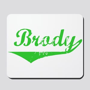 Brody Vintage (Green) Mousepad