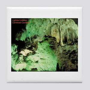 Carlsbad Caves Tile Coaster
