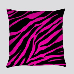 pink zebra Everyday Pillow