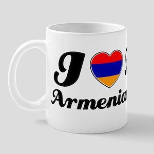 I love my Armenian wife Mug