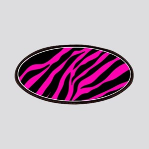 pink zebra Patch