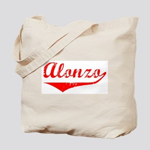 Alonzo Vintage (Red) Tote Bag