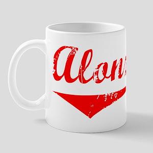 Alonzo Vintage (Red) Mug