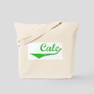 Cale Vintage (Green) Tote Bag