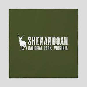 Deer: Shenandoah, Virginia Queen Duvet