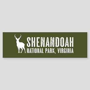 Deer: Shenandoah, Virginia Sticker (Bumper)