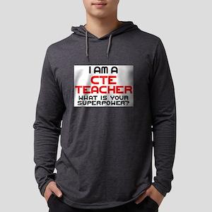 cte teacher Mens Hooded Shirt