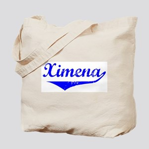 Ximena Vintage (Blue) Tote Bag