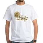 Palm Tree Italy White T-Shirt