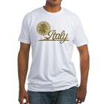 Palm Tree Italy Fitted T-Shirt