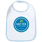 We Say Yes To A Better Israel Baby Bib
