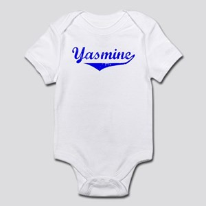 Yasmine Vintage (Blue) Infant Bodysuit