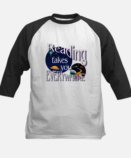 Reading Takes You Everywhere BL Baseball Jersey