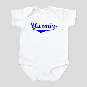 Yazmin Vintage (Blue) Infant Bodysuit