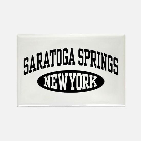 Saratoga Springs NY Rectangle Magnet
