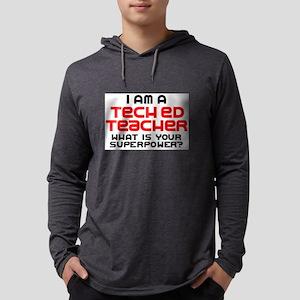 tech ed teacher Mens Hooded Shirt