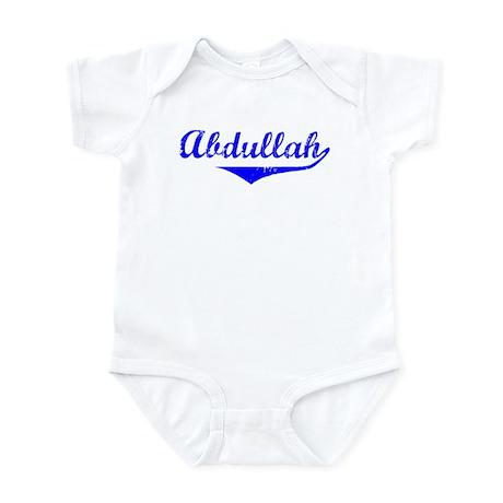 Abdullah Vintage (Blue) Infant Bodysuit