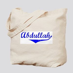 Abdullah Vintage (Blue) Tote Bag