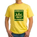 Legalize Ga. Design T-Shirt