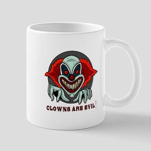 Clowns are Evil Mug