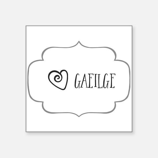 Gaeilge Sticker