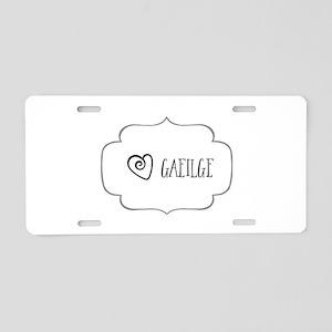 Gaeilge Aluminum License Plate