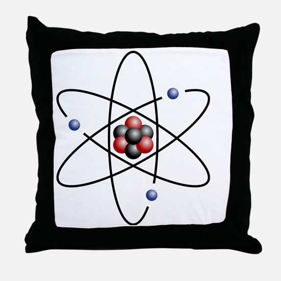 Unique Nuclear Throw Pillow