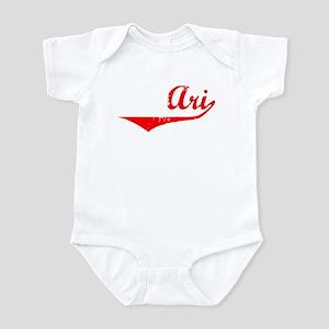 Ari Vintage (Red) Infant Bodysuit